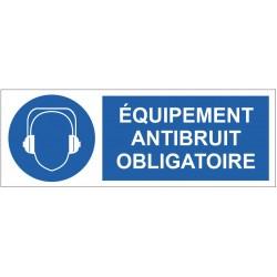 Panneau équipement antibruit obligatoire