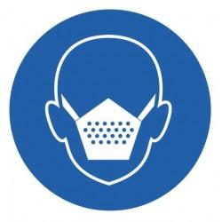Panneau masque de protection obligatoire