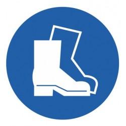 Panneau chaussures de sécurité obligatoires