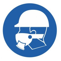 Panneau protection des voies respiratoires obligatoires