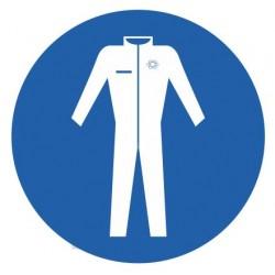 Panneau vêtement de protection obligatoire