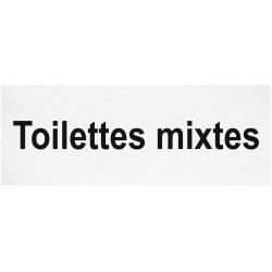 Toilettes mixtes