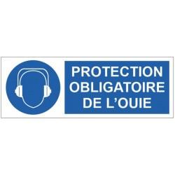 Panneau protection obligatoire de l'ouie