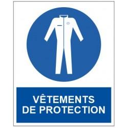 Panneau vêtement de protection