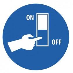 Panneau obligation on-off