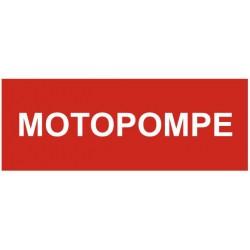 Panneau motopompe