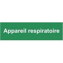 Autocollant appareil respiratoire